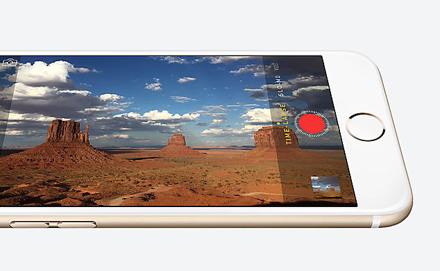 New 8MP iSight camera with Focus pixels