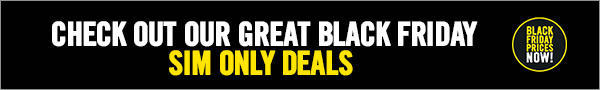 Check Out Our Great Black Friday SIM Only Deals